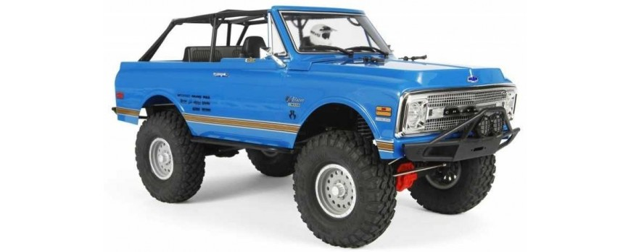 SCX10 II™ 1969 CHEVROLET BLAZER 1/10TH SCALE ELECTRIC 4WD -R