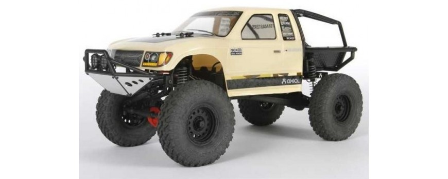 TRAIL HONCHO SCX10 II™ 1/10TH SCALE ELECTRIC 4WD – RTR