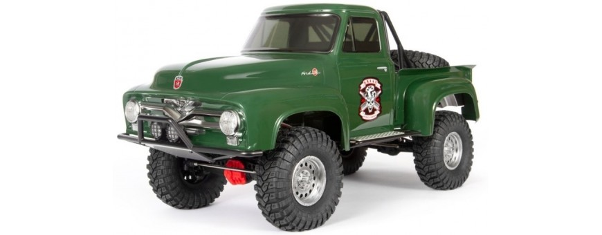 SCX10 II 1955 FORD F-100 4WD TRUCK BRUSHED RTR, GREEN