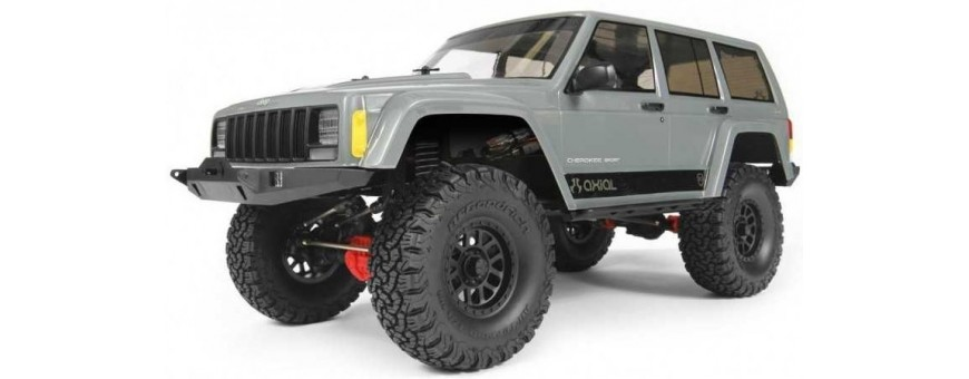JEEP® CHEROKEE 2000 1/10TH SCX10 II™ SCALE ELECTRIC 4WD – RTR