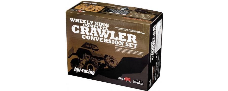 Peças - HPI - Wheely King Complete Rock Crawler Conversion